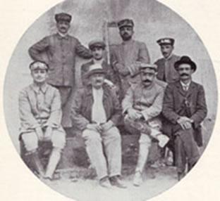 Convegno di motociclisti ad Antrodoco (estate 1911)