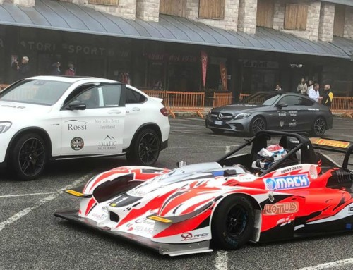 Rossi e Mercedes-Benz sempre al fianco della cronoscalata reatina